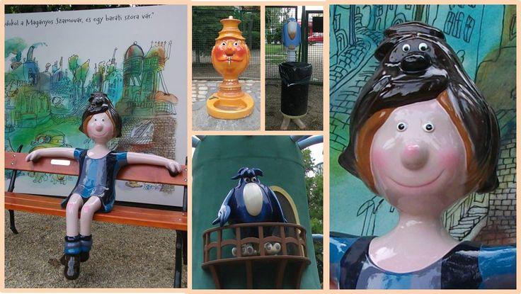 Pom-pom - Another hungarian cartoon playground - Budapest, Hungary