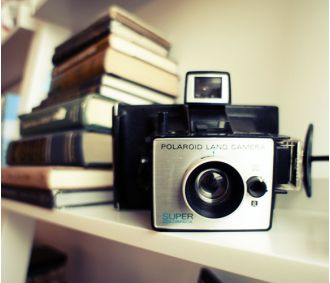 Vintage Polaroid Super ColorPack Camera by ForgottenCharm on Etsy
