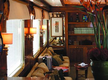 The Blue Train is one of the world's great luxury trains