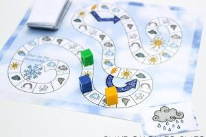 Free Printable Weather Game