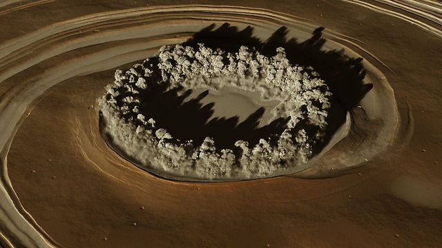 GALE by KORB. Acoustic dust performance on the Red planet (northwestern part of the Aeolis Quadrangle at 5.4˚S, 137.8˚E) by KORB and ECHOLAB.