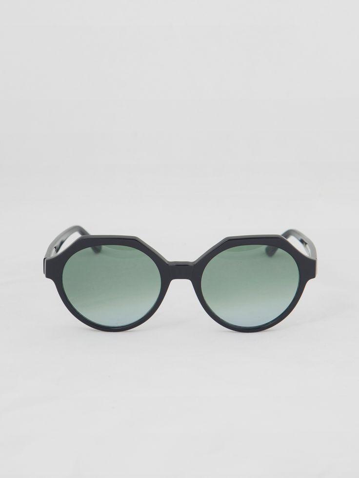 KYME , Mary Siyah Güneş Gözlüğü #shopigo#shopigono17#accessories#womenswear#menswear#fashion#sunglasses#style#colourful