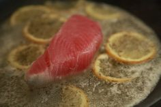 How to Cook Tuna on a Stove - Poach Or Pan Sear