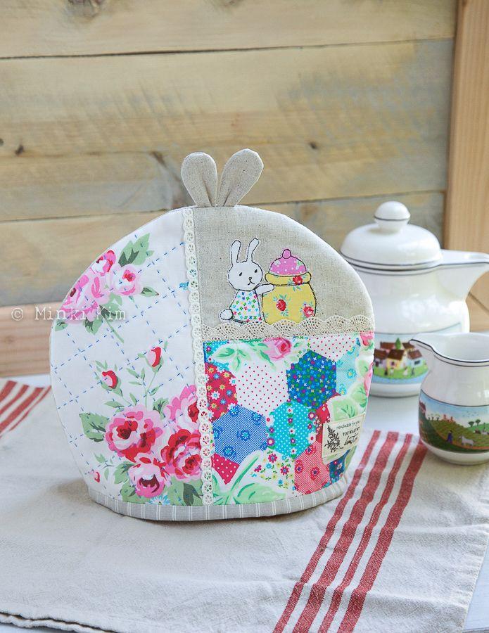 Bunny tea cozy