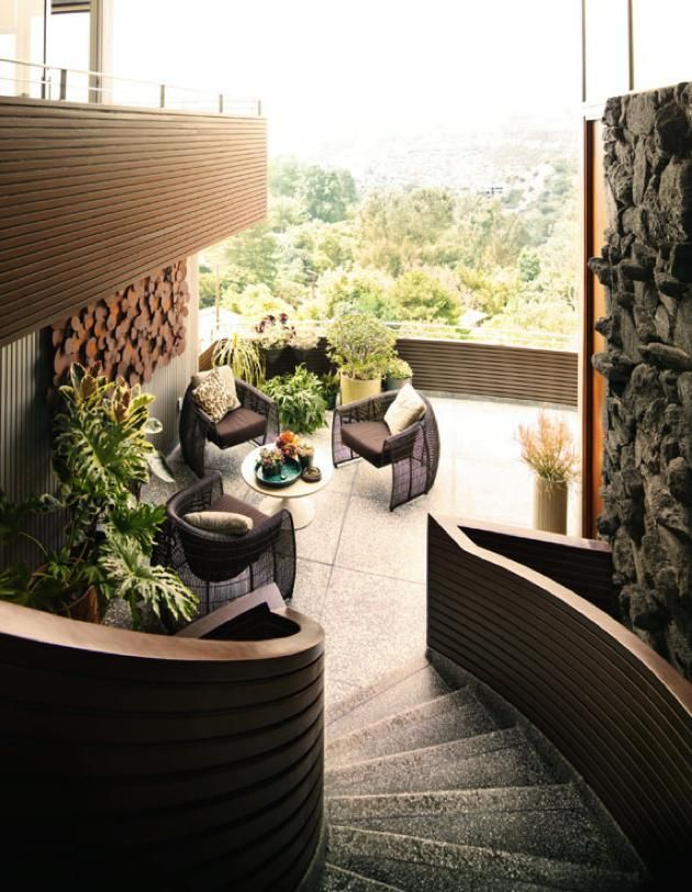 John Lautner's Garcia House. See more, click on the image.