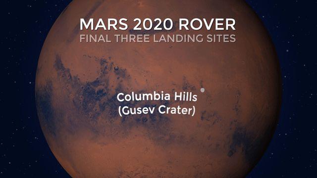 Mars 2020: Jezero, Columbia Hills e Syrtis, sono le tre macro aree individuate dalla Nasa per la perforazione del suolo marziano