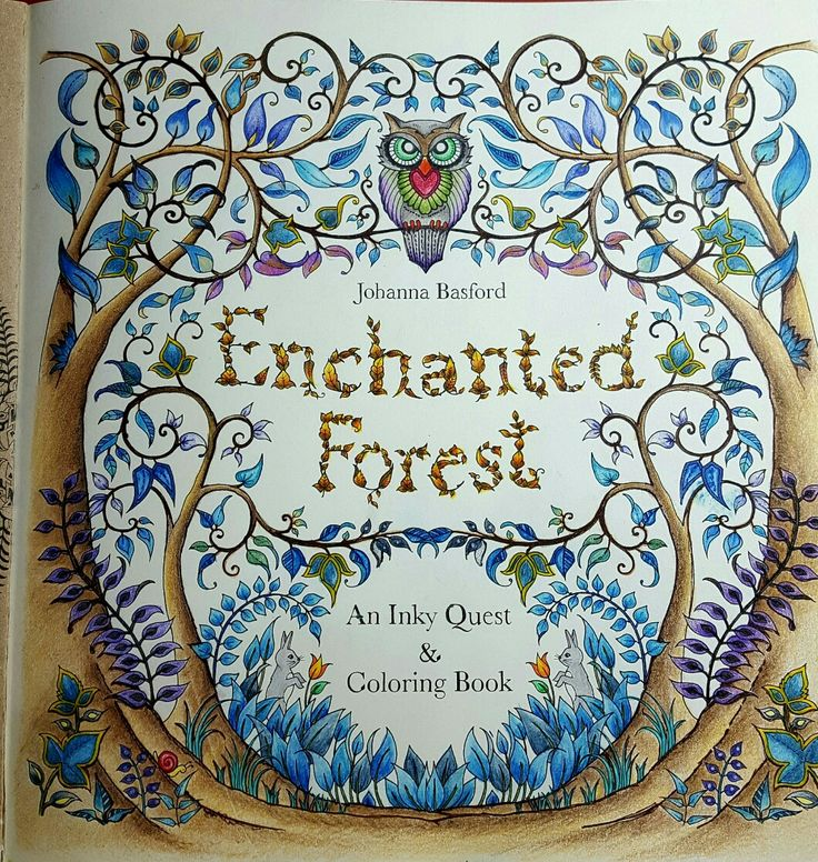 17 Best Images About Johanna Basford Enchanted Forest