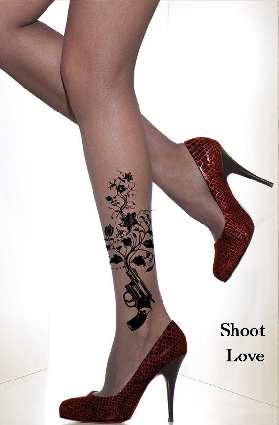 The Rise of  Peace Full length panty hose by SideShowAnatomology #hose #hosiery #tights #stockings #leggings #nylons #stockings