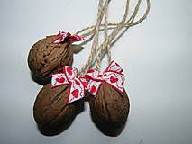Vianoce - Tři oříšky pro Popelku... červeno biele - 4829910_
