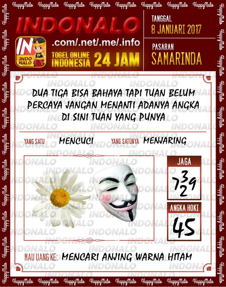 Kode Jaga 4D Togel Wap Online Live Draw 4D Indonalo Samarinda 8 Januari 2017