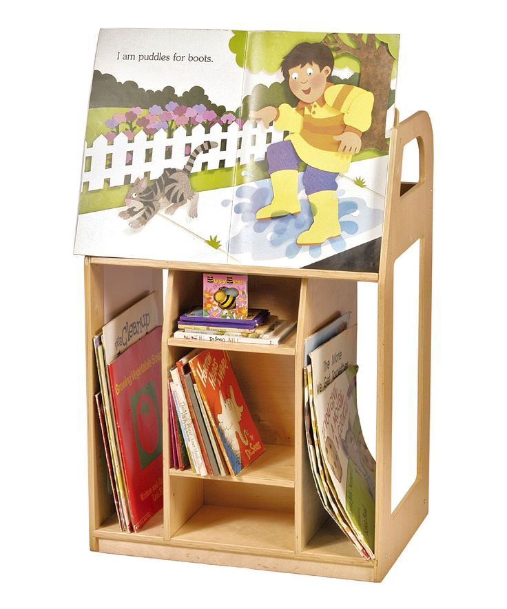 Book Trolley (from Guidecraft via Zulily)