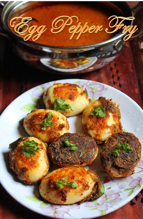 YUMMY TUMMY: Easy Egg Pepper Tawa Fry Recipe / Muttai Milagu Fry Recipe