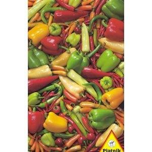 Piatnik 5648 - Puzzle de 1000 piezas pimientos [importado de Alemania]: Amazon.es: Juguetes