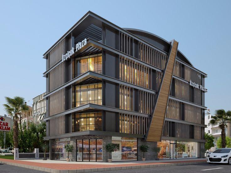 Business center exterior design, iş merkezi tasarımları