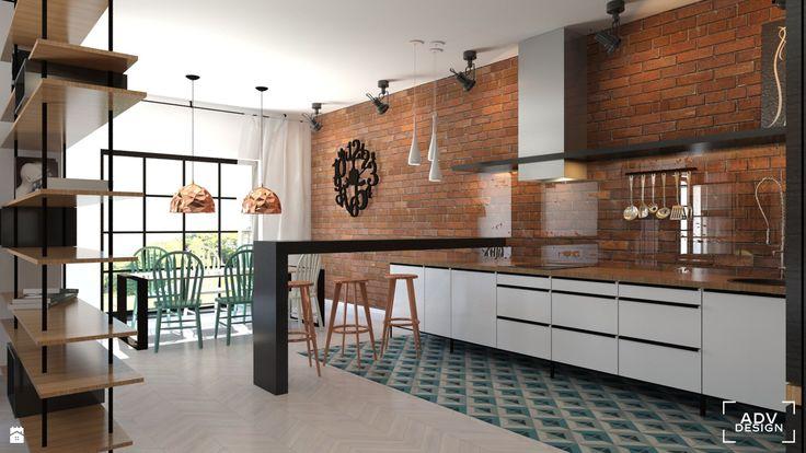 Kuchnia styl Industrialny - zdjęcie od ADV Design - Kuchnia - Styl Industrialny - ADV Design