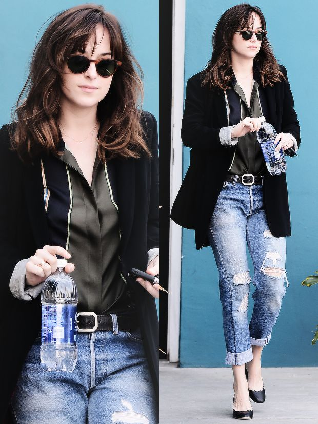 """ Dakota Johnson spotted in West Hollywood 08.01.15 """