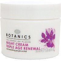 Boots Botanics Triple Age Renewal Night Cream