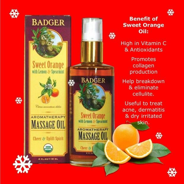 Sweet Orange Oil - Cheer & Uplift Spirit