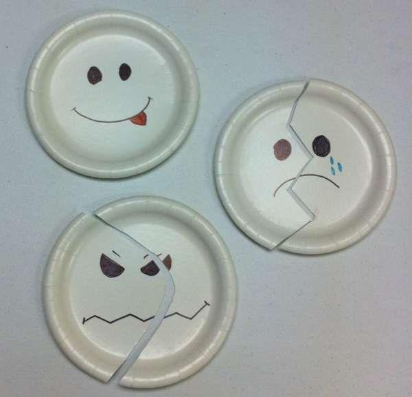 Puzzle expressions du visage et émotions