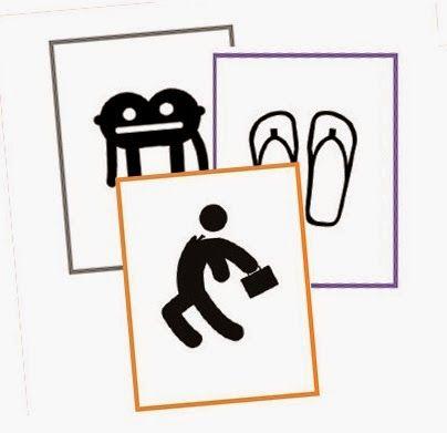 El rincón del profesor de ELE: 189 tarjetas con iconos