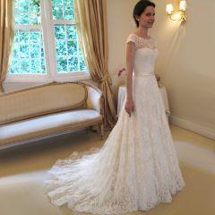 svatební šaty krajkové Anetka - plesové šaty, svatební šaty, společenský salón