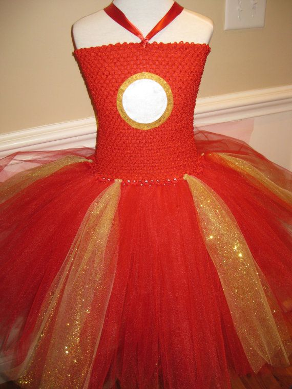 Hey, I found this really awesome Etsy listing at https://www.etsy.com/listing/193751263/iron-man-iron-girl-super-hero-tutu-dress