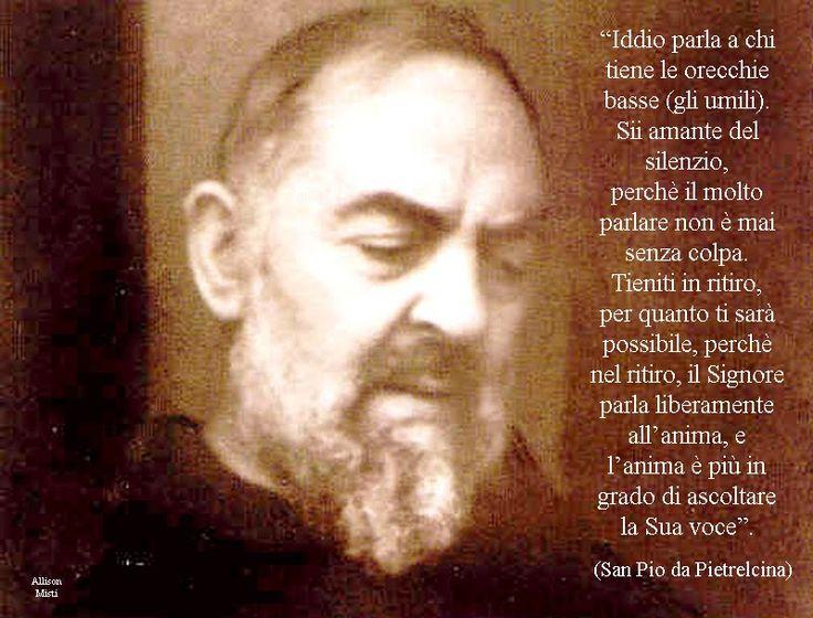 Umiltà e silenzio secondo Padre Pio..