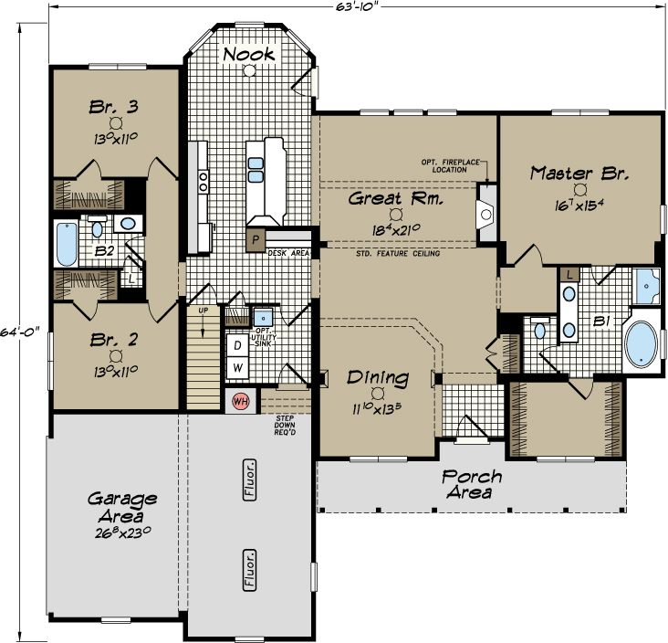 1000 images about modular home floor plans on pinterest for Virginia farmhouse plans