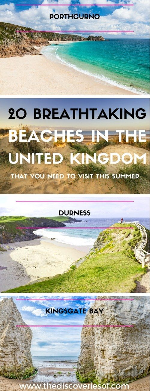 The sun is shining and the temperature is rising. Time to grab your beach set and make the most of the best beaches in the UK?  #BeachLove #UKTourism #UKTravels