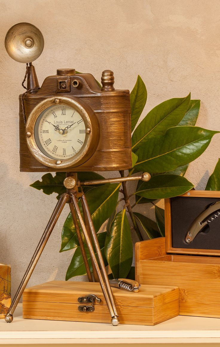 Vintage Photo Camera Clocks - Be Vintage Chic With Chic Ville