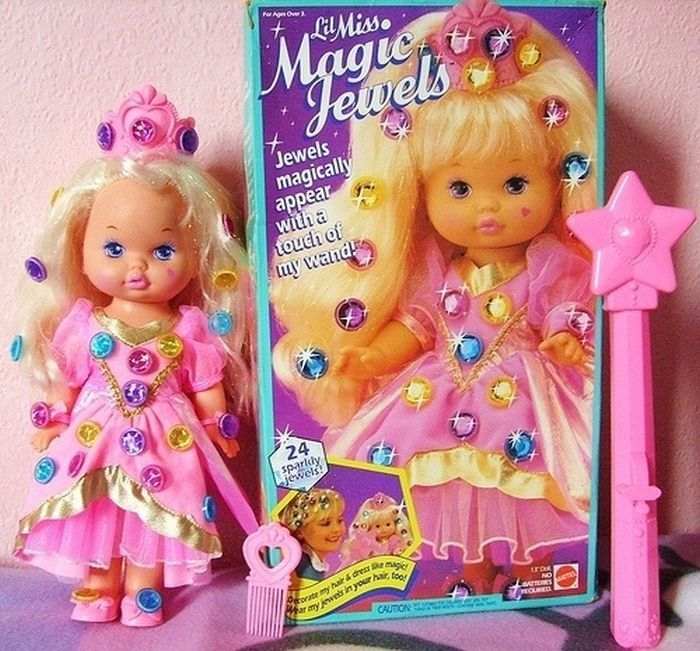 Bad Toys For Girls : Little miss magic jewels i wanted this doll so bad when