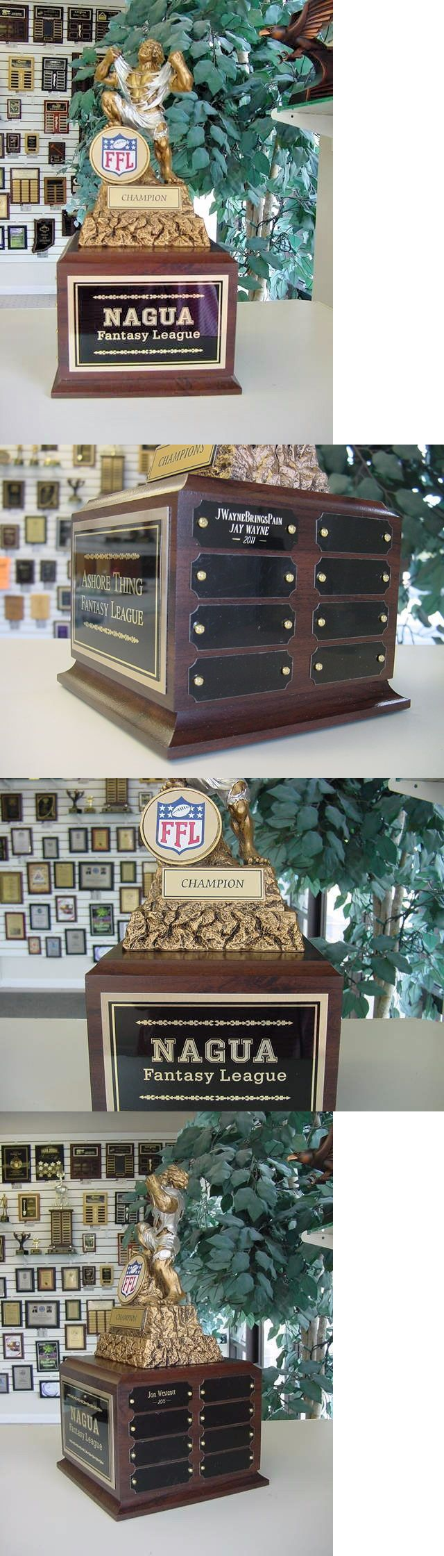 Other Football 2024: Fantasy Football Perpetual Trophy 16 Y Ffl Monster New Color Ffl Logo With Riser -> BUY IT NOW ONLY: $69.85 on eBay!