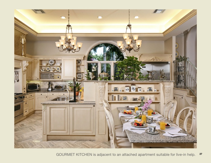 European Style Formal Kitchen Ariam Interiors
