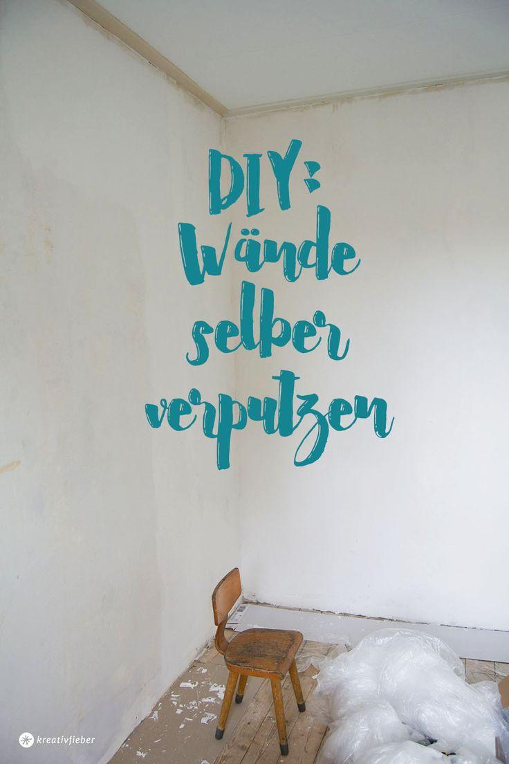Wenn man Kuchen glasieren kann, kann man dann auch Wände selber verputzen? Ich zeige euch heute ein paar Tipps und Tricks.