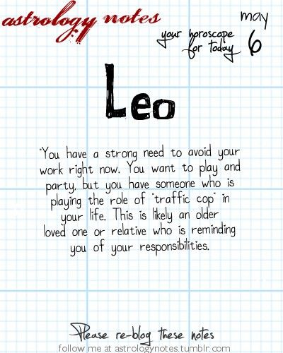 Leo Astrology Note: Do you know your rising sign?  Visit iFate.com Astrology today!