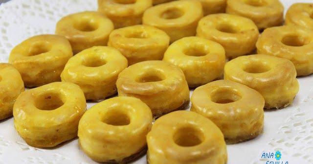 Rosquillas de yema (Rosquillas de Alcalá) con Thermomix. rosquillas de hojaldre thermomix, yema thermomix,