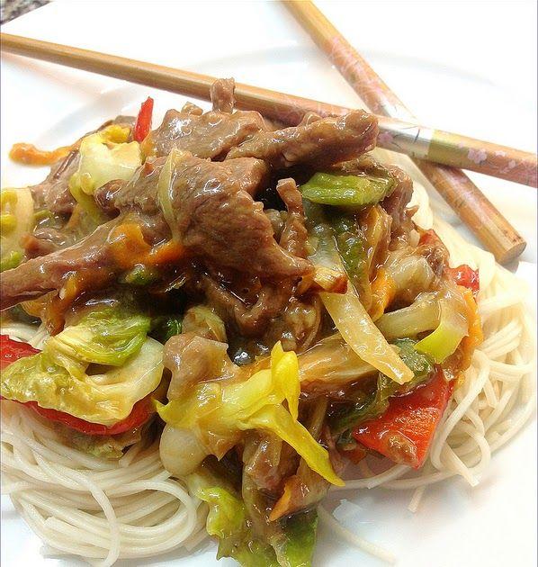 Un exquisito plato de carne con sabor oriental que podemos hacer en poco tiempo.    Si no tenéis salsa de ostras podéis sustituirla por s...