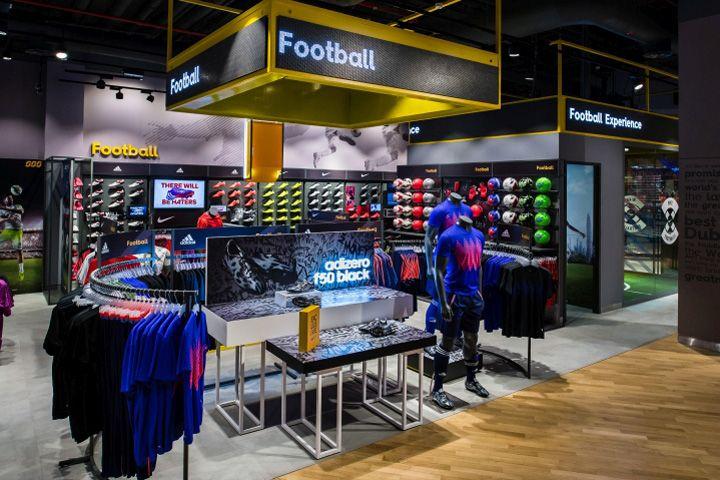 Sun & Sand Sports Store by Green Room, Dubai – UAE » Retail Design Blog