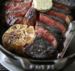 """BLT Steak: Wonderful, service can't be beat either, very """"in"""" right now.  Great dc crowd"""