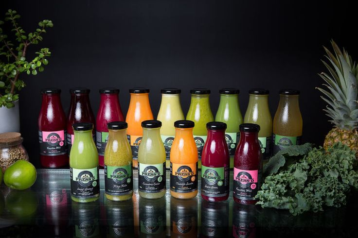 Juices are not only nutrient dense but tastes amazing as well.