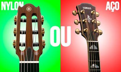 DICAS E AULAS DE VIOLÃO E GUITARRA: Curso de Violão - Cordas para violão: nylon ou aço...