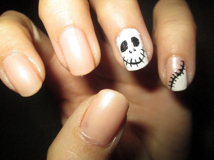 Jack Skellington / The Nightmare Before Christmas nails