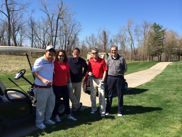 A fun time was had by all spending a day on the links at Old Hickory Golf Club April 2014