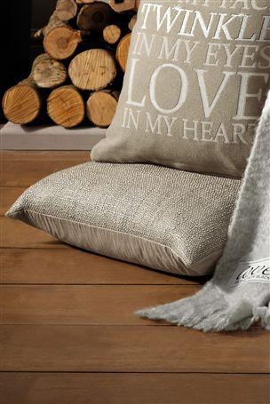Luxury Metallic Cushion