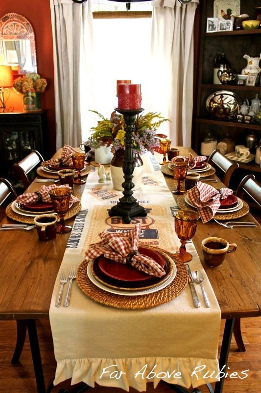91 Best Images About Fall Table Settings On Pinterest