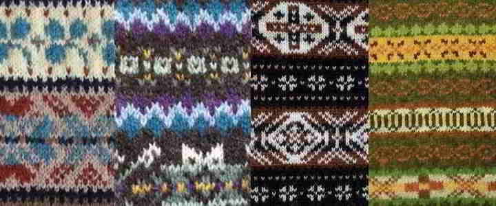 A Site with a lot of colorwork charts