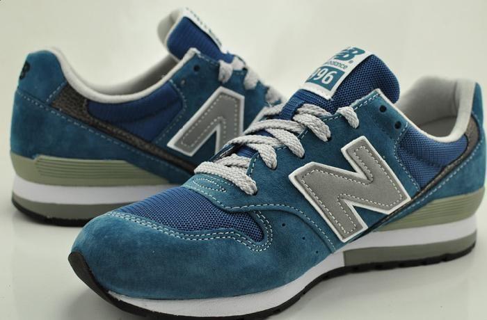 Ny New Balance 996 Grønn Blå Revlite for Herre Sko