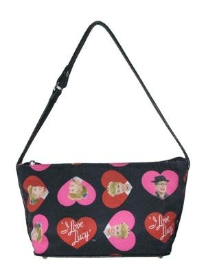 I Love Lucy Heart Buckle Handbag - FREE SHIPPING $28.00