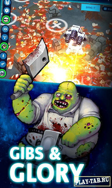 Скачать бесплатно игру OTTTD : Over The Top TD на андроид без регистрации полная версия с кэшем и модом на деньги.