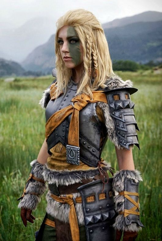 Mjoll the Lioness by April Gloria (Skyrim cosplay)